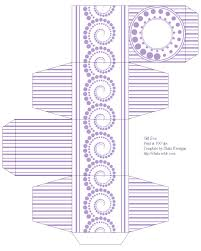 free box templates to print for gift boxes wedding favours kids