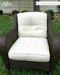 Cleaning Outdoor Furniture by How To Easily Remove Mildew Stains From Outdoor Cushions Clean