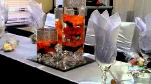 wedding centerpiece ideas black white decorating of party