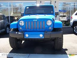 2011 Wrangler 2011 Jeep Wrangler Unlimited Sahara 4x4 In Cosmos Blue Photo 2