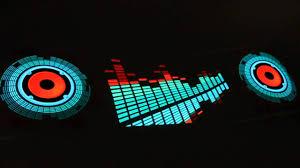 90x25cm car sticker rhythm led lights l sound activated