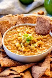 salted caramel peanut butter apple pie dip carlsbad cravings