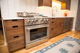 Contemporary Walnut Kitchen Cabinets - kitchen modular kitchen prefab kitchen cabinets european norma