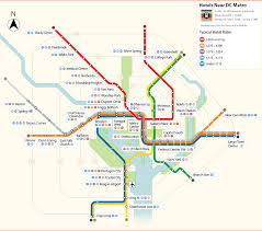 Metro Map Washington Dc Image Gallery Metro Map 2015