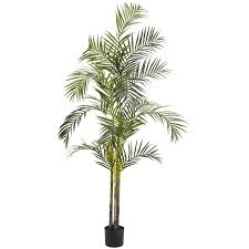areca palm 7 foot silk tree free shipping today overstock