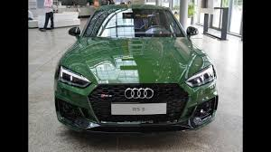 audi museum green audi rs5 is so unusual they immediately put it in a museum