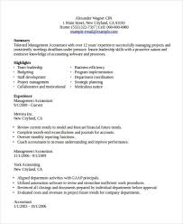 Example Of Accounting Resume by 24 Accountant Resume Templates In Pdf Free U0026 Premium Templates