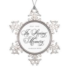in loving memory ornaments keepsake ornaments zazzle