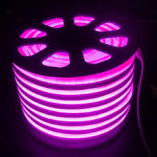 purple pinkish led border 110 volt ac input led
