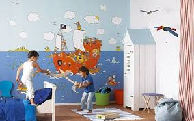Pirate Themed Kids Room by Kids Room Awesome Modern Wallpaper For Kids Rooms Fun And