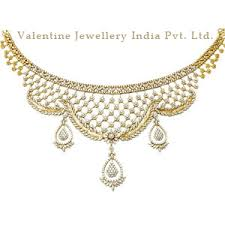 necklace diamond gold images Wedding diamond gold necklace jewelry in sitapura indl area jpg