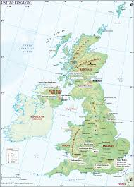 North European Plain Map by Uk Map United Kingdom Map