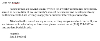 Professional Sample Cover Letter of Broadcast Journalism