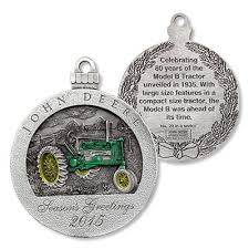 deere limited edition 2015 pewter ornament 20th