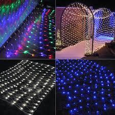 1 5 1 5m net led lights 96 led curtain house window wall