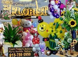 balloon delivery el paso tx como la flor comolaflorflorist el paso