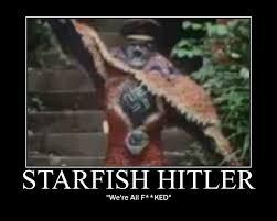 Starfish Meme - starfish hitler by hailtothechimp on deviantart