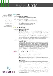 Outstanding Resume Templates Best Resume Format 2016 Which One To Choose In 2016