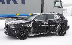 brand new volvo new 2018 volvo xc40 u0027baby u0027 suv scooped in production body