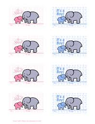 baby shower gift card tree ideas elephantpinkampbluegifttags