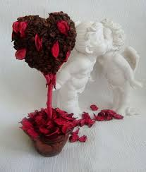 homemade valentines day gifts homemade valentine s day gift ideas 24 creative heart topiary trees