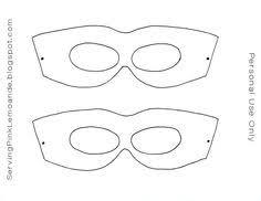 cricut template superhero eye masks masquerade silhouette no fill
