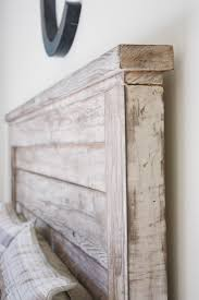 Paint A Headboard by Make A Rustic Headboard Aged Wood For The Queen Headboard I Have
