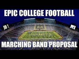 Marching Band Memes - epic college football marching band proposal marriage