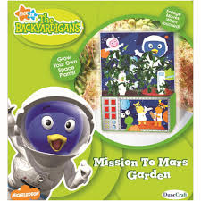 backyardigans mission mars garden toys