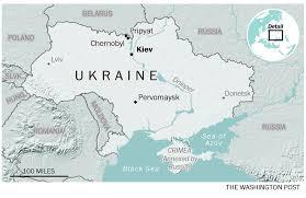 Chernobyl Map A Destination Radioactive Ukraine The Peninsula Qatar