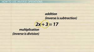 inverse operations in math definition u0026 examples video u0026 lesson