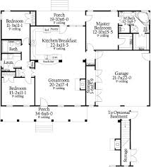 free house floor plans cottageville 8787 3 bedrooms and 2 5 baths the house designers