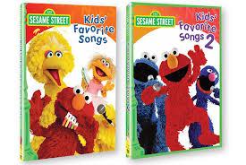 in motion sesame favorite songs vol 1 2 dvd set