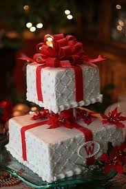 24 best christmas wedding cakes images on pinterest christmas