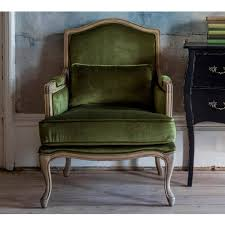 Green Armchairs Hathaway Moss Green Velvet Chair Green Armchair Bedroom