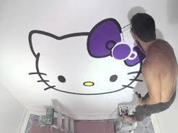 mural hello kitty youtube mural hello kitty
