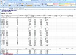 it support report template invoice agingt excel template new detailed aged customer balance