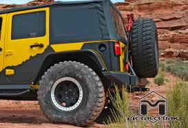 jeep wrangler overland metalcloak u0027s rear exoskin overland edition adding style