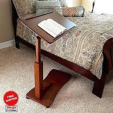 Swivel Laptop Desk Swivel Bedside Adjustable Height Table Laptop Desk Tilting Rolling