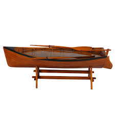 canoe coffee table for sale sail away wooden boat bar coffee table