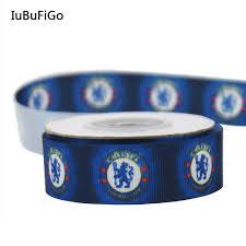 football ribbon iubufigo 10 yards 7 8 team club printed grosgrain ribbon 22mm