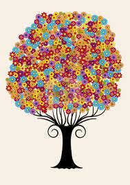 tree clipart retro pencil and in color tree clipart retro