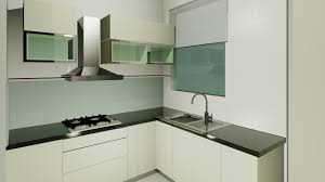 Kitchen Renovation Ideas 2014 by Modern Small Kitchen Design Featuring White Finish Wooden