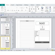 day planner template indesign publisher daily calendars