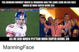 Eli Manning Memes - the akward momentwhen eli manning had the same look on his face when
