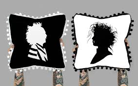 halloween pillows halloween pillow halloween decor beetlejuice pillow