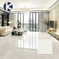 Polished Porcelain Floor Tiles China Cheap Price White Crystal Double Loading Polished Porcelain