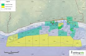 Ivory Coast Map Cote D U0027ivoire Oil And Gas Huge Offshore Africa Potential