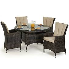 dining table set 4 seater maze la 4 seat dining set free parasol oak furniture house