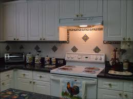 kitchen black and white backsplash glass tile kitchen backsplash